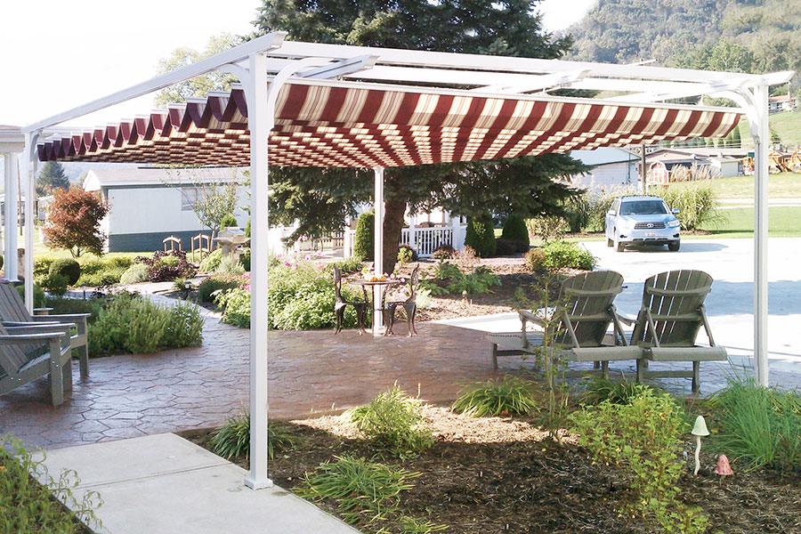 Aristocrat Pergolas And Canopies Champ S Awning