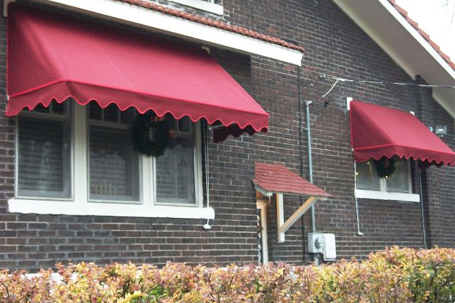 House Awnings For Doors And Windows : Aristocrat window awnings door canopies champ s awning
