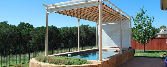 Canopy with Side Curtains