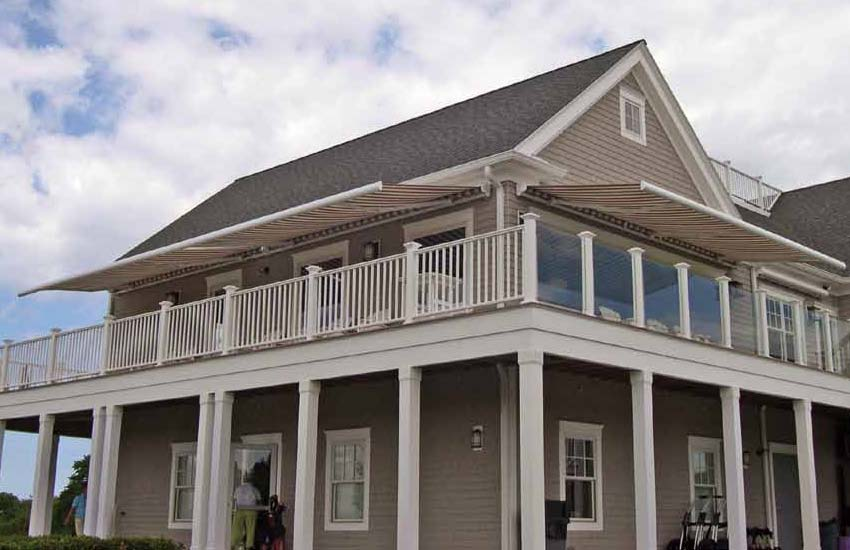 G250 - Partially Cassetted Retractable Patio Awnings